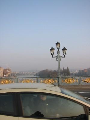Liège : le Pont de Fragnée
