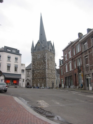 Eglise Saint Sébastien à Herve