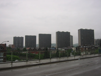 Les tours de Droixhe (Liège)