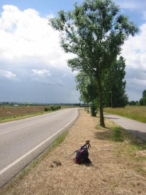 Chemin de Saint Jacques entre Maastricht et Visé