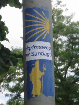 Pelgrimsweg naar Santiago