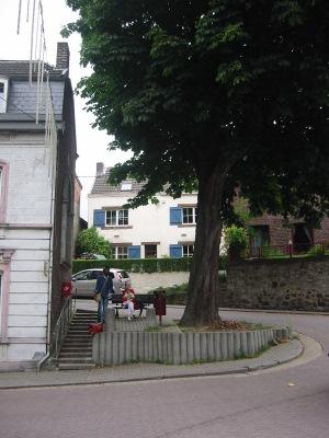 Scène de village à Richelle