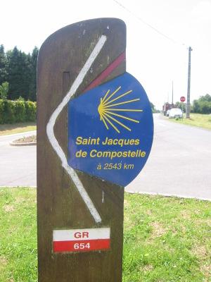 Saint Jacques à 2543 km