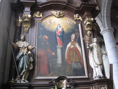 Saint Jacques à La Collégiale Saints Pierre et Paul de Chimay