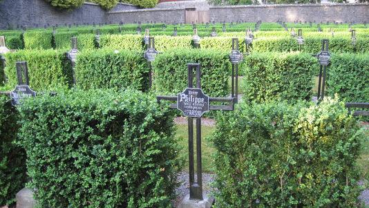 Scourmont : le cimetière des moines