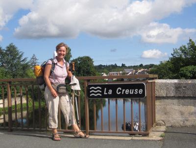 La Creuse à Argenton (on la traverse après Gargilesse)