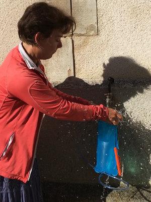 Remplissage poche à eau