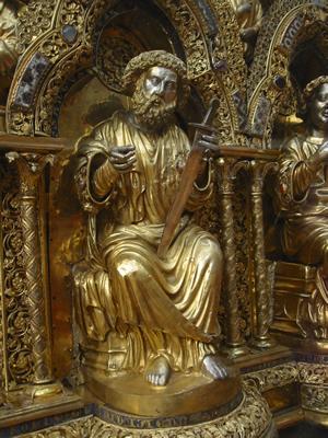 Châsse de Saint Eleuthère, trésor de la cathédrale de Tournai