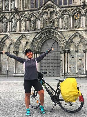 L'arrivée à Trondheim