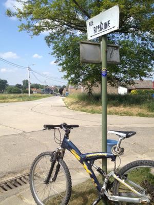 Vers Saint-Jacques à vélo