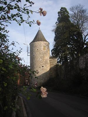 Villers-le-Temple : tour d'enceinte du château