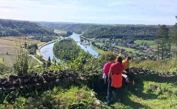 3 jours sur le GR126 en Province de Namur