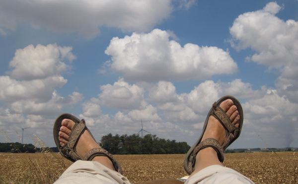 Ode à mes sandales