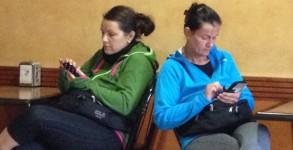 La place des smartphones sur le chemin