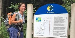 Dans l'Eifel- sur le Jakobsweg
