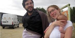 Faustine, pèlerine de Compostelle de 2 mois